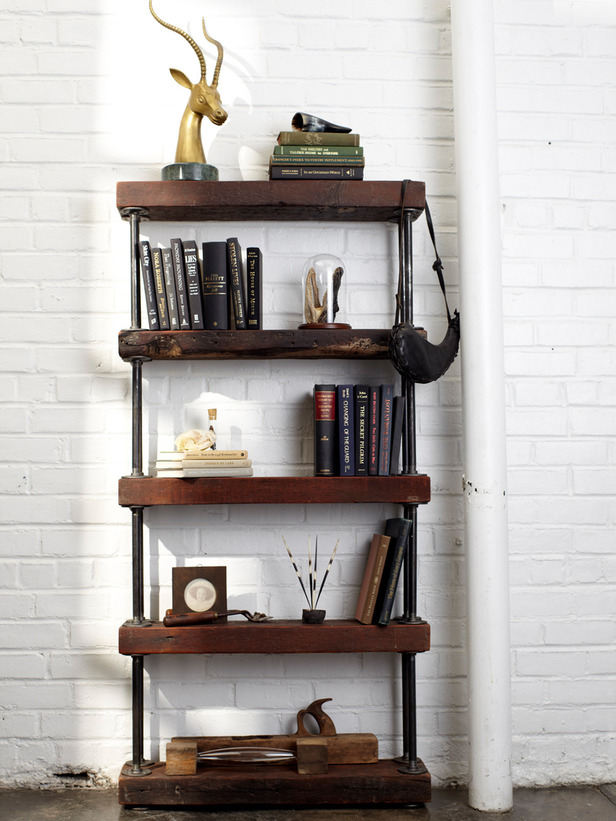 Picture Of how to build an industrial pipe shelf  2