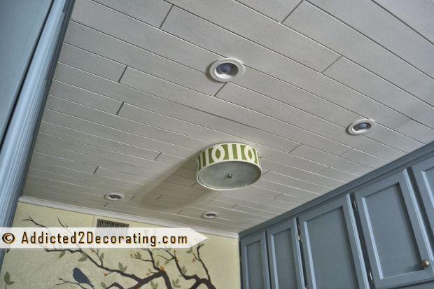 diy wood slat ceiling