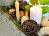 How To Create A Cozy Fall Centerpiece