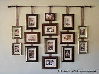 15 Creative Ideas To Hang Photos And Art Shelterness