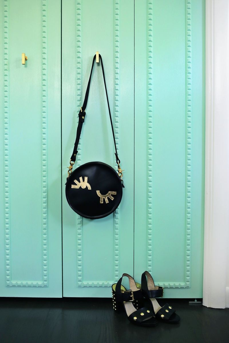 Picture Of how to customize your closet doors with trim  1