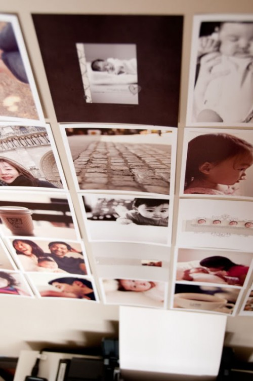 How To Decorate A Boring Blank Wall With Photo Mosaic