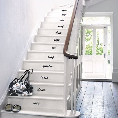 How To Decorate Simple Stairs