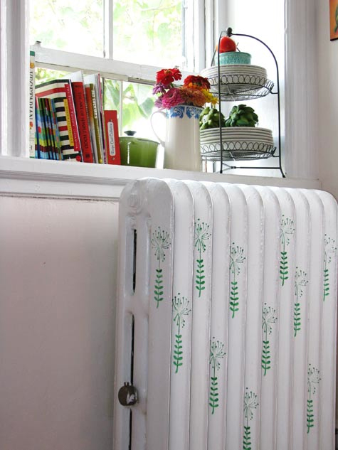 How To Decorate an Ugly Radiator With Patterns
