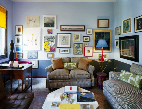 How To Decorate Walls With Pictures