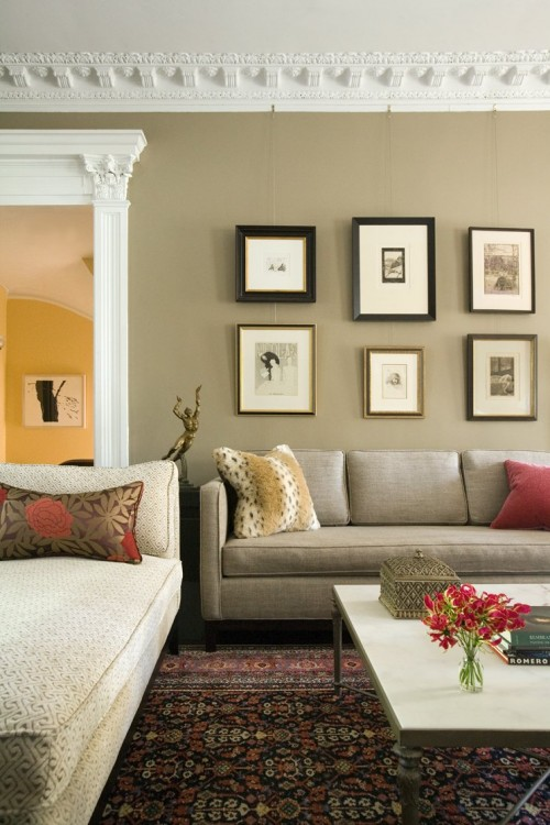 How To Decorate Walls With Pictures Amazing Design