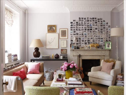 How To Decorate Walls With Pictures Idea
