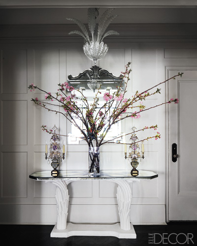 how to decorate your home with branches in vases shelterness