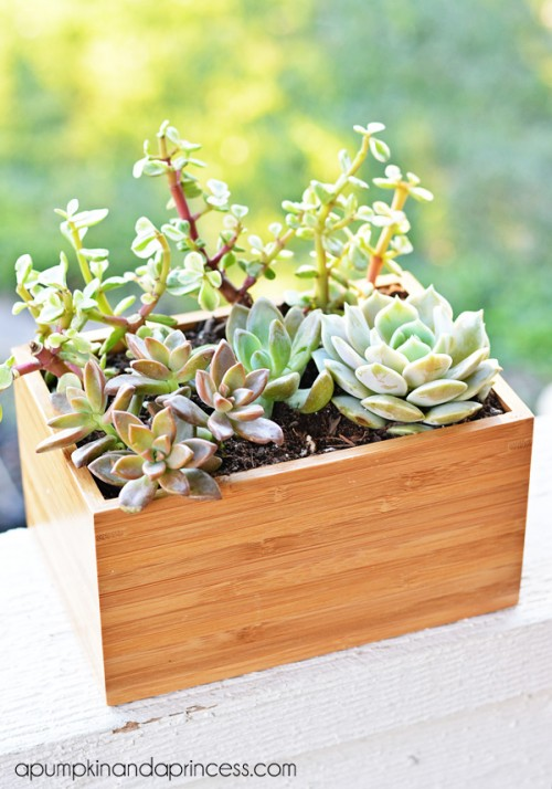 planter box IKEA hack (via apumpkinandaprincess)
