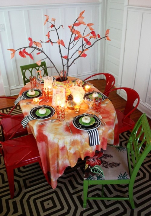 How To Lay The Table For A Formal Fall Dinner