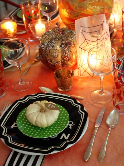 How To Lay The Table For A Fall Formal Dinner