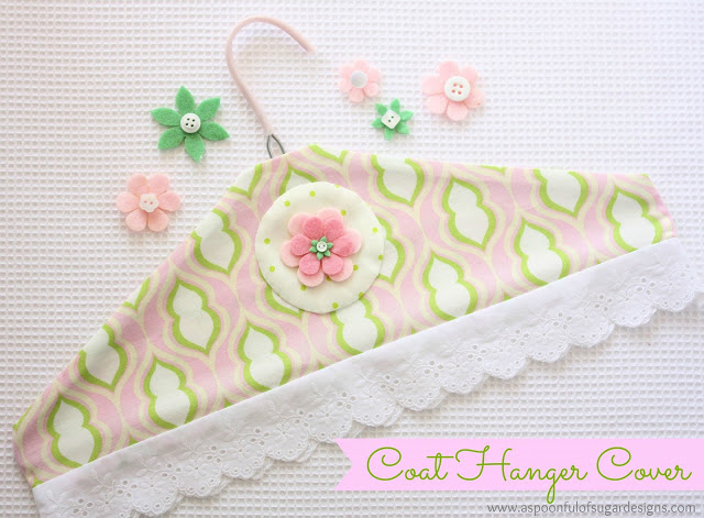 How To Make A Coat Hanger Cover