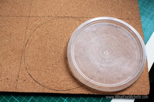 How To Make A Colorful Mouse Pad Of Cork