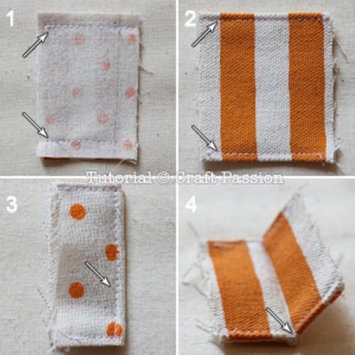 Визитницы из ткани своими руками