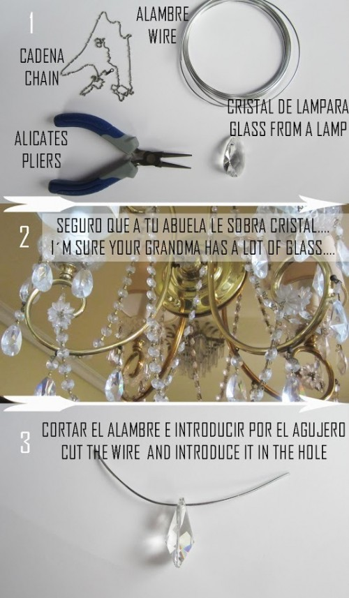 How To Make A Diamond Necklace
