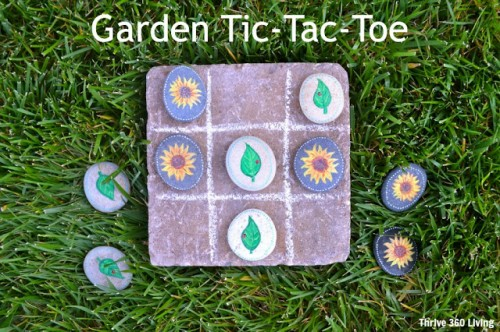 How To Make A Garden Tic-Tac-Toe