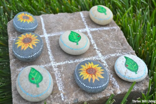 How To Make A Garden Tic Tac Toe