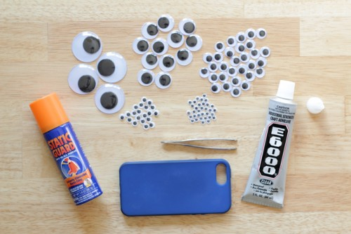 How To Make A Googly Eyes Iphone Case