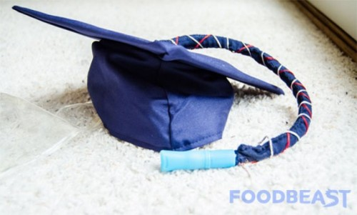 How To Make A Graduation Cap Flask