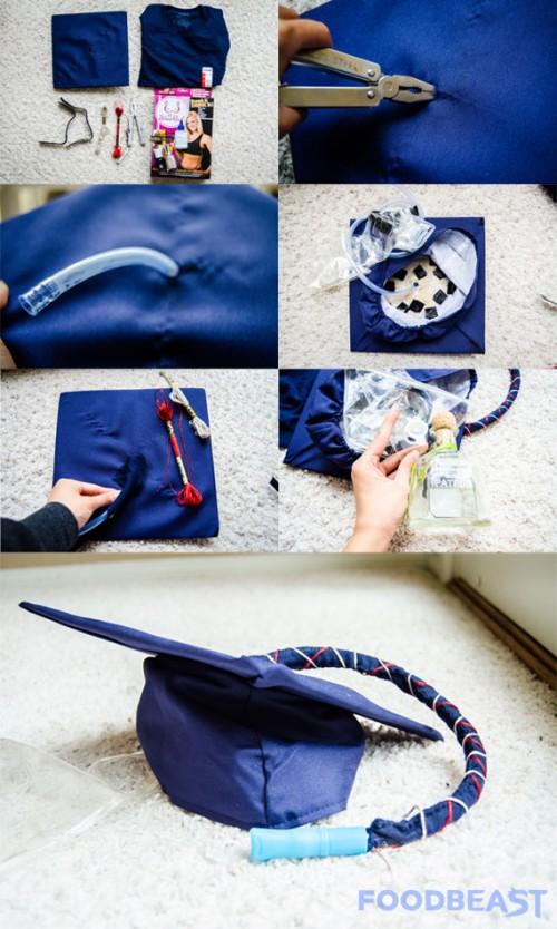 How To Make A Graduation Cap Flask