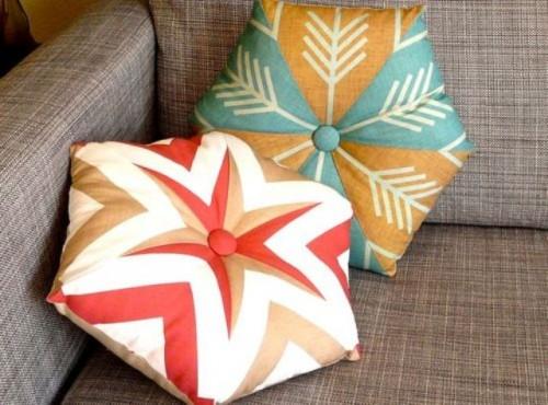How To Make A Kaleidoscope Pillow