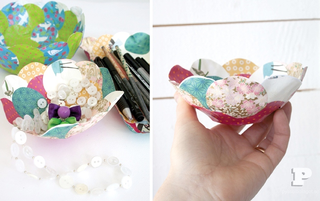 Picture of how to make a paper mache bowl for Diy paper bowl