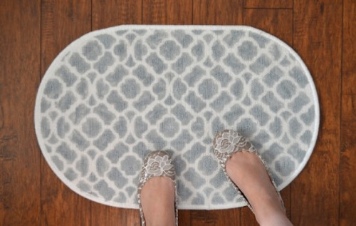 How To Make A Patterned Bath Mat