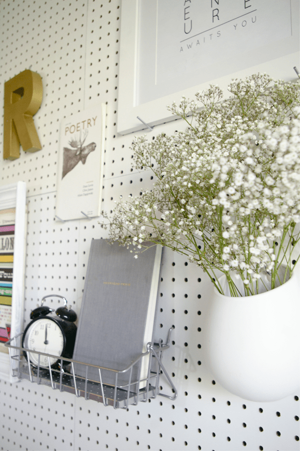 How To Make A Pegboard Headboard For Useful Accessories