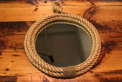 How To Make A Rope Mirror (via thenateshow)