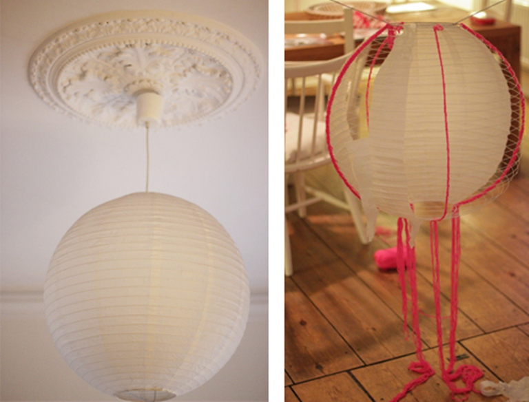 How To Make A Round Paper Lamp