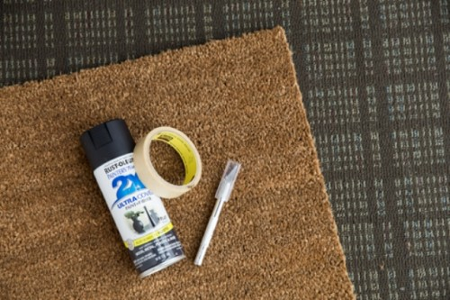 How To Make A Simple Geo Doormat Shelterness