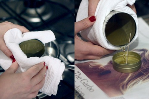 How To Make A Travel Candle