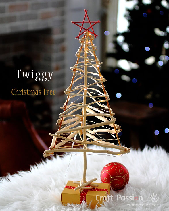 How To Make A Twiggy Christmas Tree