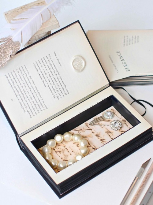 How To Make A Vintage Secret Book