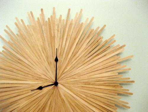 How To Make An Original Sunburst Clock