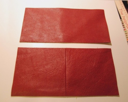 How To Make An Original Leather Clutch