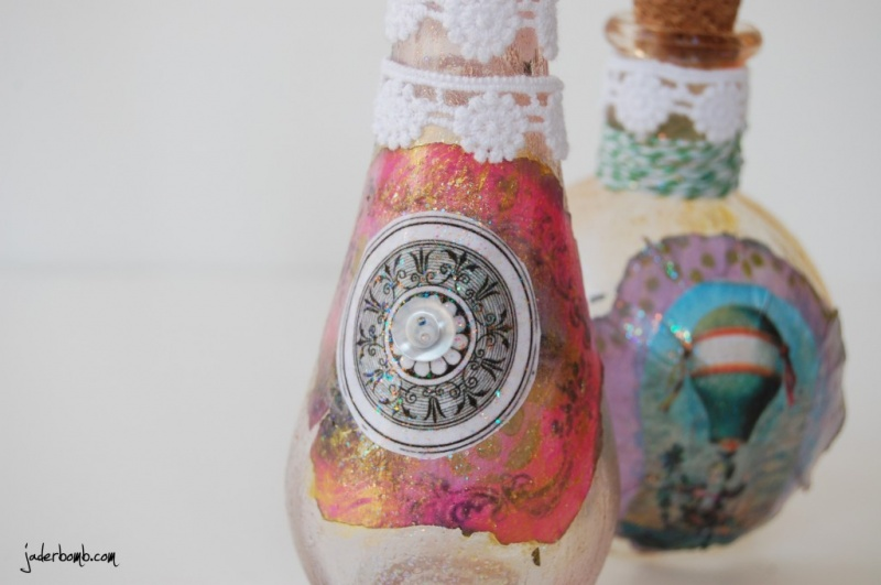 How To Make Beautiful Vintage Bottles