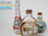 How To Make Beautiful Vintage Bottles