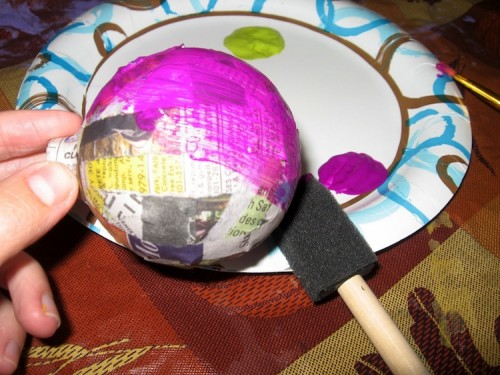 How To Make Colorful Halloween Ornaments