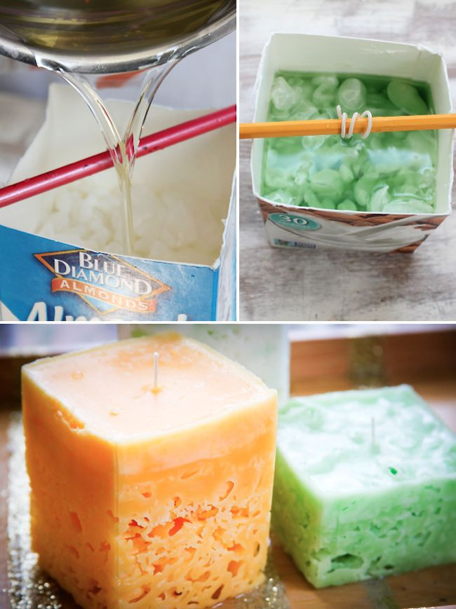 How To Make Colorful Ice Candles
