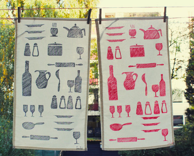 How To Make Diy Tea Towels