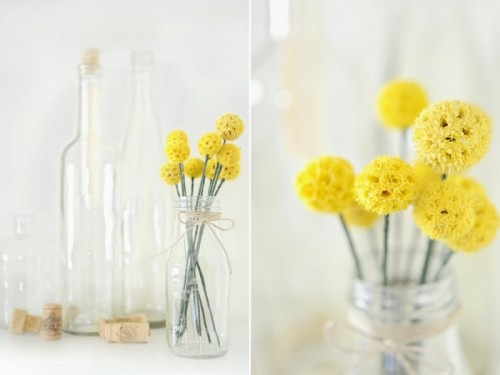 How To Make Dried Billy Flowers