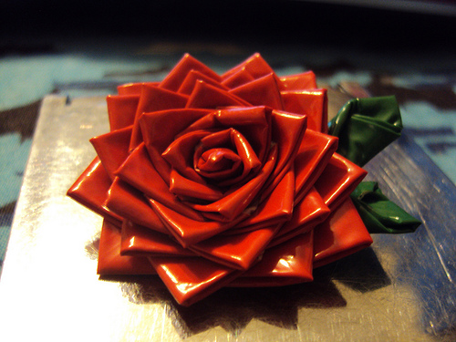 How To Make Duct Tape Roses