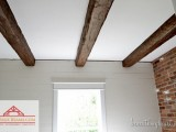 faux old wooden beams