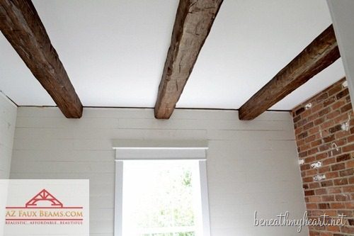 How To Make Faux Ceiling Beams: 5 Cool DIYs