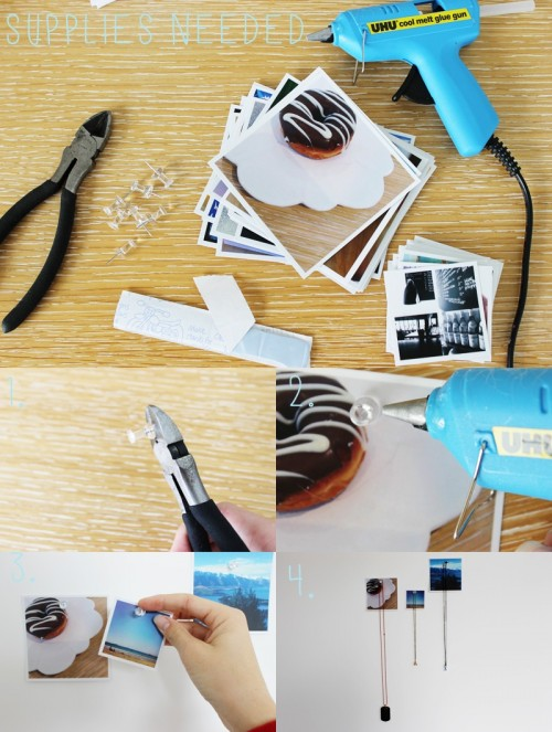 How To Make Instagram Print Jewelry Hangers