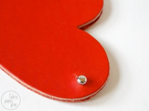 How To Make Leather Heart Coin Purse