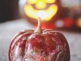 How To Make Marbelized Pumpkins