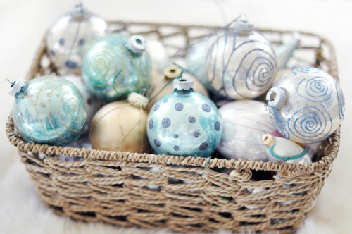 How To Make Old Christmas Ornaments Looks Great Again
