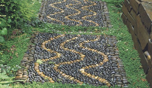 How To Make Pebble Mosaic Pathways